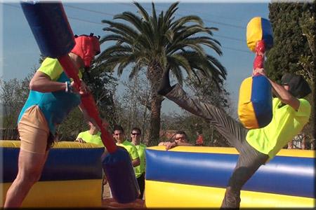 Circuito Hinchables Despedidas Tarragona