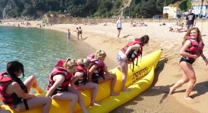 Banana Beach Despedidas Tarragona