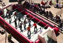 Futbolín Humano y Foot Bubble Despedidas Tarragona