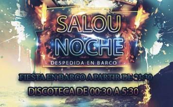 Despedidas Tarragona en Barco Noche